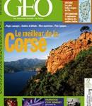 La Une du numéro de juillet de Géo, consacré à la Corse.