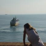 Départ ferry au large de Bastia