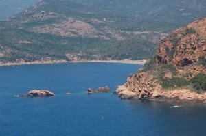 Le processus de protection qui devrait être mis en place à travers Natura 2000 portera, entre autres, sur le golfe de Porto. (Copyright Mas&Ratti)