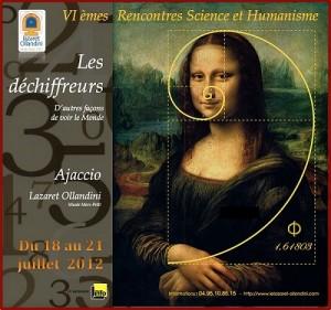L'affiche du cycle de conférences organisé en juillet au Lazaret Ollandini, à Ajaccio.