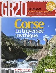 La couverture du numéro spécial consacré au GR20 corse.