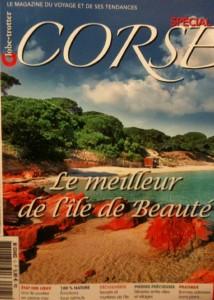 La couverture du numéro spécial de Globe-trotter consacré à la Corse. (Reproduction Mas&Ratti)