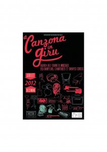 La couverture de l'agenda des tournées des artistes corses.