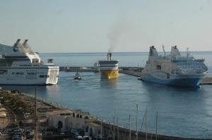 L'attribution de la nouvelle délégation de service public est repoussée: la SNCM et La Mérdionale d'une part, Corsica Ferries, d'autre part, avaient répondu à l'appel d'offre (Copyright Mas&Ratti)
