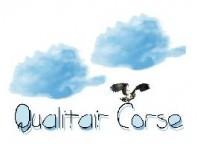 Le logo de Qualitair Corse, association chargée de la surveillance de la qualité de l'air.