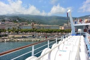Le nombre de voyageurs par bateau entre Corse et continent est en baisse. (copyright Mas&Ratti)