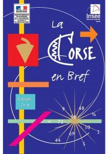 """La couverture du fascicule """"La Corse en bref""""."""