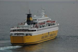 Corsica Ferries étoffe sa flotte (ici un navire au départ de Bastia). (Copyright jaime-la-corse - Pierre-Yves Ratti)